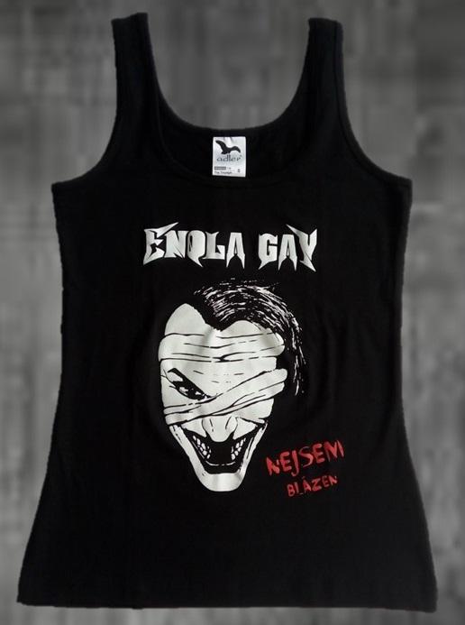 tílko dámské černé - Enola Gay - Nejsem_blazen