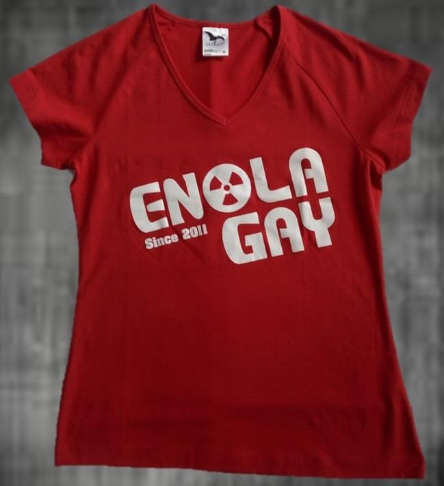 triko Enola Gay dámské modré