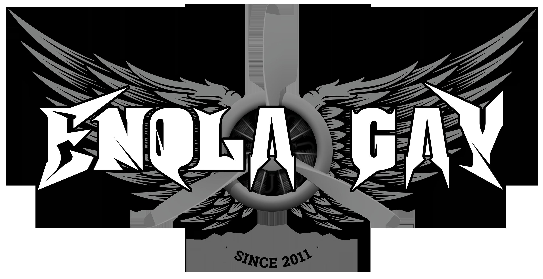Enola Gay + bombardér monochrom